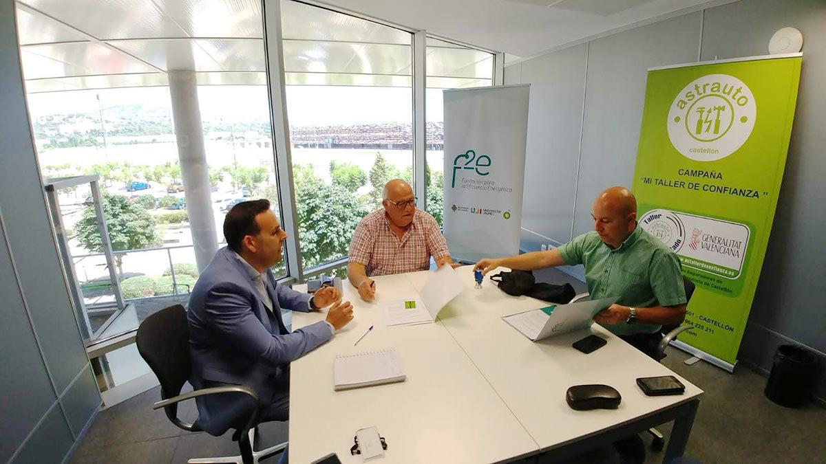 Acuerdo de colaboración ASTRAUTO-OPPIDUM ENERGIA 1